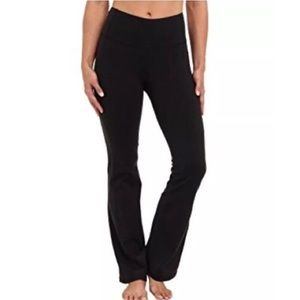 Lucy Powermax Yoga Pants Boot Cut Black XS Short